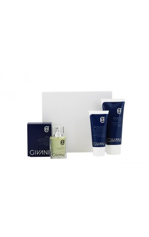 Cadeau Box 4. Men  After Shave Balsem & Showergel & Active Face Wash & Fragrance naar keuze