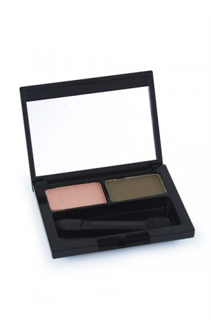 Eyeshadow Duo Zacht Rose - Taupe