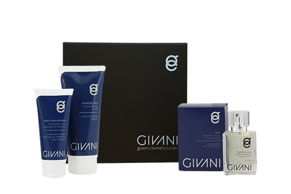 Kerst Special Cadeau Box 1. Men  Aftershave balsem & Showergel & Fragrance naar keuze