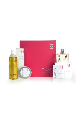Cadeau Box 2 Woman Bath& Body Oil + Belle Allure Fragrance Woman. Nu met gratis hygienic Handgel 200 ml