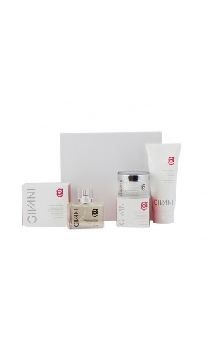 Cadeau Box 1.  Woman Hydra Day Cream & Shower Cream naar keuze & Fragrance naar keuze. Nu met gratis hygienic Handgel 200 ml