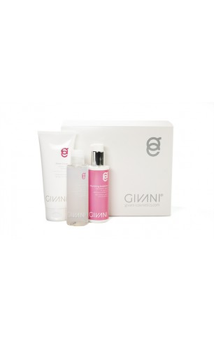 Givani Damesset Showercream 200 ml & Nourishing Body Lotion 150 ml & Eye Lotion 150 ml in een Soft Cadeau Box.